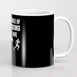 First Rule Of Exercising Always Give 100% Gift for Exerciser Coffee Mug