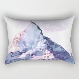 The Crystal Peak Rectangular Pillow