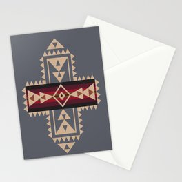 American Native Pattern No. 121 Stationery Cards