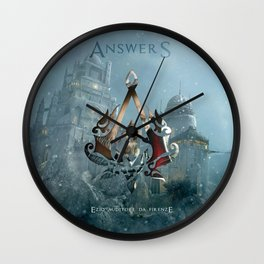 Ezio Auditore Da Firenze - Answers Wall Clock