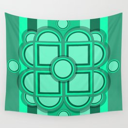 Retro Soylent Green Wall Tapestry