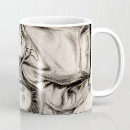 Hjernen er alene Coffee Mug