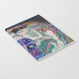 The Maiden Gustav Klimt Notebook