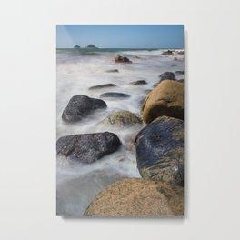 Cot Valley Beach Metal Print