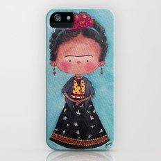 Frida - Watercolor iPhone (5, 5s) Slim Case