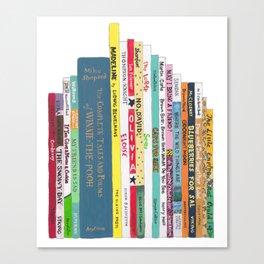 Children's Books Bookshelf (great baby shower gift!) Canvas Print