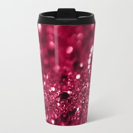 Red Summer Love Glitter #1 #shiny #decor #art #society6 Travel Mug