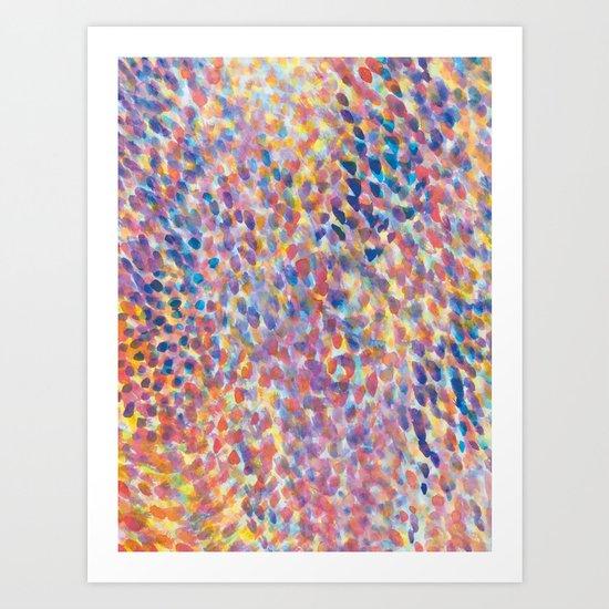 Mist Lilac Art Print