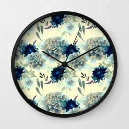 Blue Mum Wall Clock