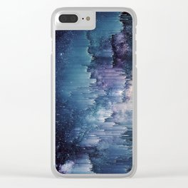 Iced Galaxy Clear iPhone Case