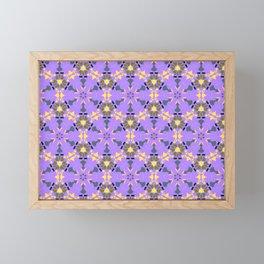 Enlighten Geomtric Name Pattern Framed Mini Art Print