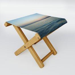 Subtle sunset Folding Stool