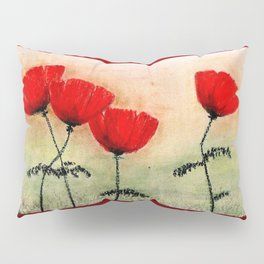 My Lovely Poppies Pillow Sham
