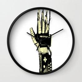 NIGHTMARE POWER GLOVE Wall Clock