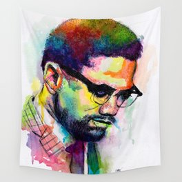 Malcolm X Wall Tapestry
