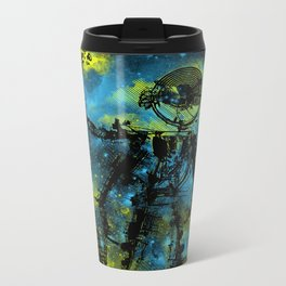 mad robot 2 Metal Travel Mug