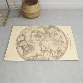 The Northern Constellations for Each Month of the Year (1856) Rug