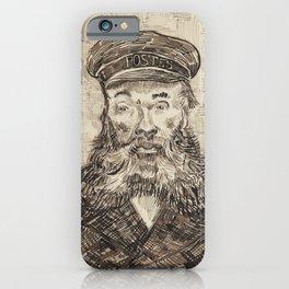 Van Gogh Postman Drawing iPhone Case