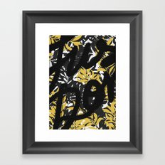 just Don't - III Framed Art Print