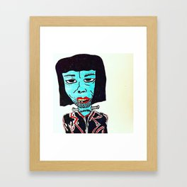 zombie ramone Framed Art Print