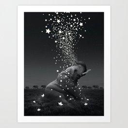 stalight, starbright Art Print
