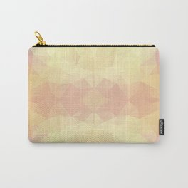Mozaic design in warm pastel colors Carry-All Pouch