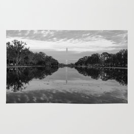 Reflecting Pool- Washington DC Rug