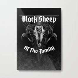 Black Sheep Of The Family Metal Print