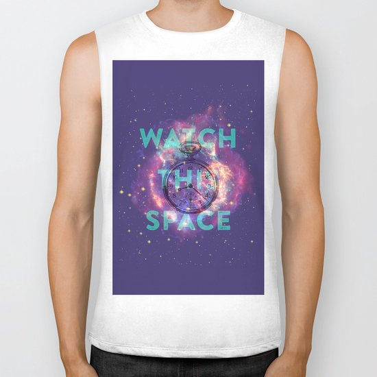 Watch this space Biker Tank
