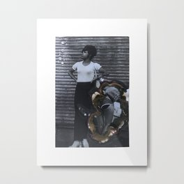 Found Image Metal Print