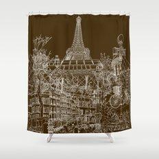 Paris! Shower Curtain
