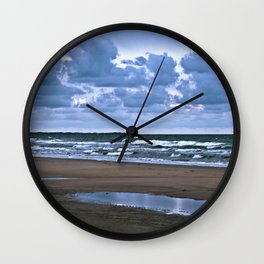 Wild Romo Beach in Denmark Wall Clock
