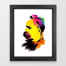 Friedrich Wilhelm Nietzsche Framed Art Print