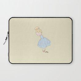 Shy Ballerina 2 Laptop Sleeve