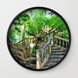 romantic place Wall Clock