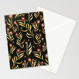 gold nature Stationery Cards