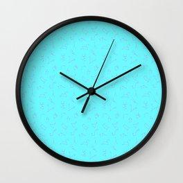Constellations pattern Wall Clock