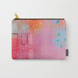 are you pretending - abstract painting Carry-All Pouch