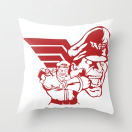 SFV M.BISON Throw Pillow