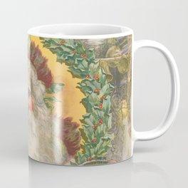 Vintage Santa Claus Illustration, 1800s Coffee Mug