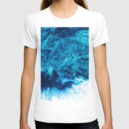 Abstract Acrylic Sea II T-shirt