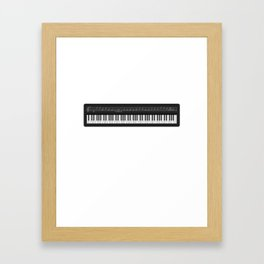 Music Keyboard I Prefer the Keyboardist Framed Art Print