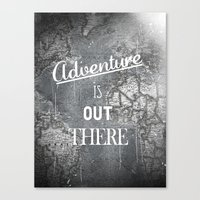adventure Canvas Prints featuring Adventure by Zach Terrell