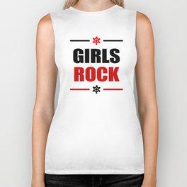 GIRLS ROCK! Biker Tank