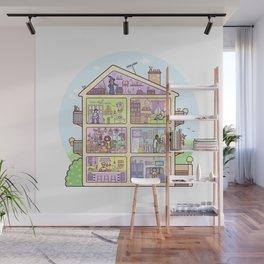 Introvert Lane Wall Mural