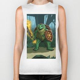 Turtle Paladin Biker Tank