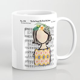Tis So Sweet to Trust in Jesus Coffee Mug