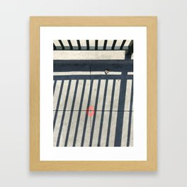 Guardrail 1 Framed Art Print