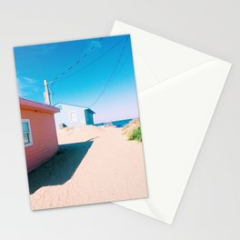 Public Beach Access Stationery Cards