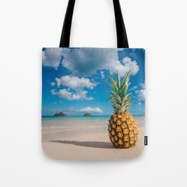 Pineapple and the Mokes Tote Bag